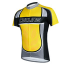 GOGO TEAM Men Short Sleeve Cycling Jersey Shirt, US Size