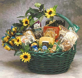 Sunflower Treats, Large, Gift Basket