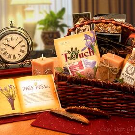 Wellness Wishes Get well Gift Basket, Gift Basket