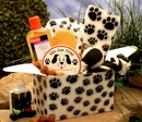 Gift Basket 819232 Paw prints Doggie Care Package