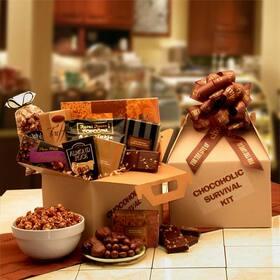 The Chocoholic's Survival Kit, Gift Basket