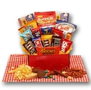 Gift Basket 819312 All American Favorites Snack Care Package