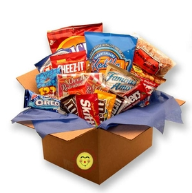 Snackdown Deluxe Snacks Care Package, Gift Basket