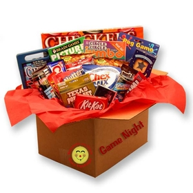 It's a Family Game Night Care Package, Gift Basket