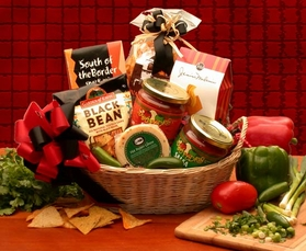 Lets Spice it up! Salsa Gift Basket, Gift Basket