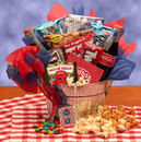 Gift Basket 820122-RB10 Blockbuster Night Movie Pail - with 10.00 Redbox Gift Card