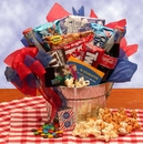 Gift Basket 820122 Blockbuster Night Movie Gift Pail