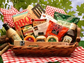 Master of The Grill Barbeque, Gift Basket