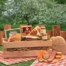 Gift Basket 820432 Signature Sausage & Cheese Crate
