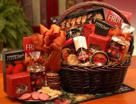 A Grand World Of Thanks Gourmet Gift Basket, Gift Basket
