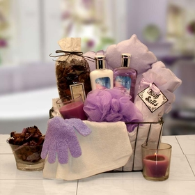 Bath & Body Spa Caddy, Gift Basket