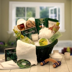 Spa Luxeries Gift Basket, Gift Basket