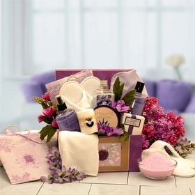 Spa Inspirations Bath & Body Gift Box, Gift Basket
