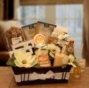 Gift Basket 8413432 Vanilla Essence Candle Gift Basket