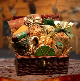 Hunters Retreat Gift Chest, Gift Basket