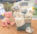 Gift Basket 890172-BOY Sweet Baby of Mine New Baby Basket - Boy