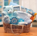 Gift Basket 890193-B Our Precious Baby Carrier - Blue