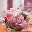 Gift Basket 890193-P Our Precious Baby Carrier - Pink