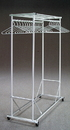 Glaro 135SA All Aluminum Wardrobe Racks 5', 135SA, Satin aluminum