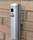 Glaro Deluxe Smoker's Post Wall Mount 12