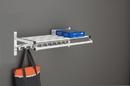 Glaro Modular, Rugged All Aluminum Clothing Racks 1 Shelf w/ Hook Strip & Hanger Bar 96