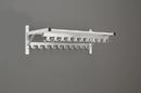 Glaro Modular, Rugged All Aluminum Clothing Racks 1 Shelf w/3 Hook Strips 24