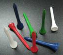 50 PCS/PACK, GOGO Golf 2 1/8 inch (5.4cm) Wooden Tees, Golf Accessories