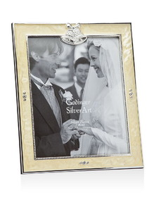 Godinger 028199010686 Wedding Frame White Epoxy 8X10, Price/each