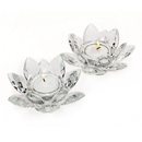 (6 Pcs @ $25.2 Pcs) Godinger 15744 Mini Lotus Tealight Pair - Fed