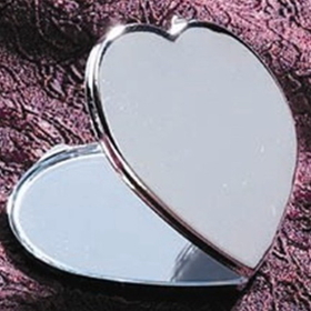 Godinger 028199001806 Heart Shaped Compact, Price/each