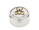 (60 Pcs @ $7.28 Pcs) Godinger 1914 Baby's First Tooth Box With Bear Design And Gold Accents