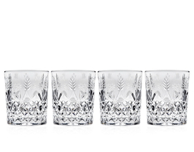 Godinger 028199257159 Stephanie Double Old Fashioned Glasses - Set of 4, Price/set