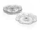 (24 Set @ $5.6 Set) Godinger 25765 Dublin Canape Plates - Set of 4