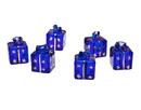 Godinger 31001 Dark Blue Painted Cardholders