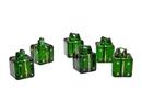 Godinger 31002 Dark Green Painted Cardholders