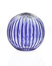 Godinger 3123B Cobalt grooved Sphere