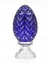 Godinger 3127B Dynasty Jumbo Egg Blue