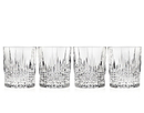 (4 Pcs @ $27.72 Pcs) Godinger 42202 Regency Set of 4 Double Old Fashioned Glasses - 10 oz.