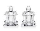 (12 Set @ $9.52 Set) Godinger 4335 Pagoda Salt & Pepper Set