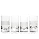 (4 Pcs @ $27.72 Pcs) Godinger 48081 Galleria Set of 4 Highball Glasses