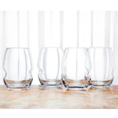 (4 Pcs @ $16.52 Pcs) Godinger 48220 Pinch Set of 4 Tumblers