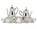 Godinger 5009 Coffee Set with Tray