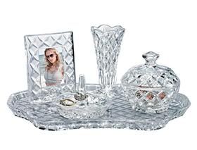 Godinger 028199534946 Shannon Vanity Set, Price/set