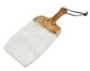 Godinger 61880 White Marble/wood Cutting Board