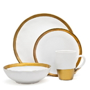 Godinger 70115 Terre D'or 4 Pc Dinner Set