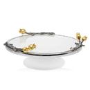 Godinger 72310 Golden Blossom Cake Stand