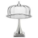 Godinger 94854 Contemp Cake Stand W/glass Dom