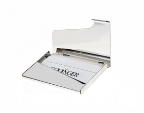 Godinger 028199009734 Business Card Holder Plain, Price/each