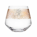 Godinger 99303 Eclipse Gold Set Of 4 Double Old Fashioned Glasses