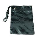 GOGO Zippered Golf Tee Pouch, Nylon Golf Accessory Bag with Carabiner and String